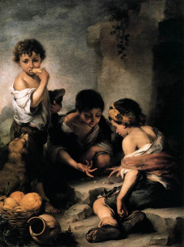 Bartolomé_Esteban_Perez_Murillo_-_Young_Boys_Playing_Dice_-_WGA16394